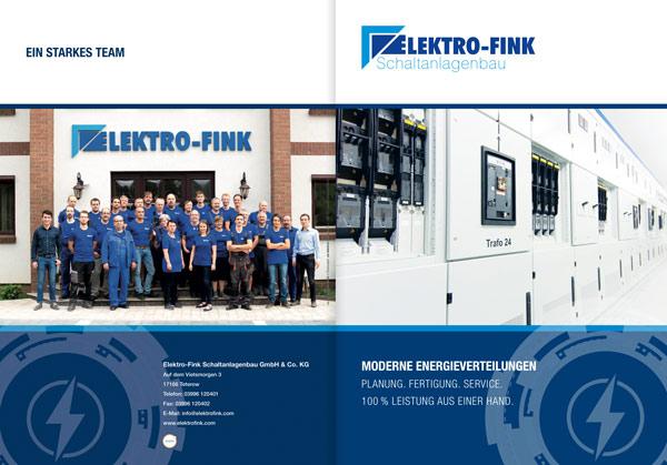 Elektro Fink Broschüre